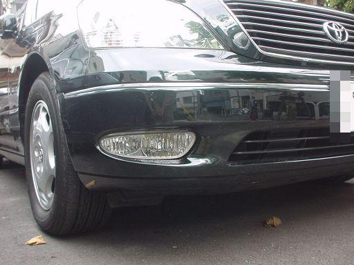 トヨタ セルシオ フロントバンパ板金塗装修理